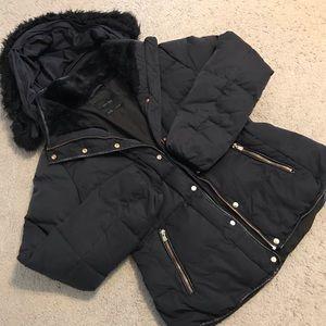 Zara Basics Outerwear Puffy Jacket